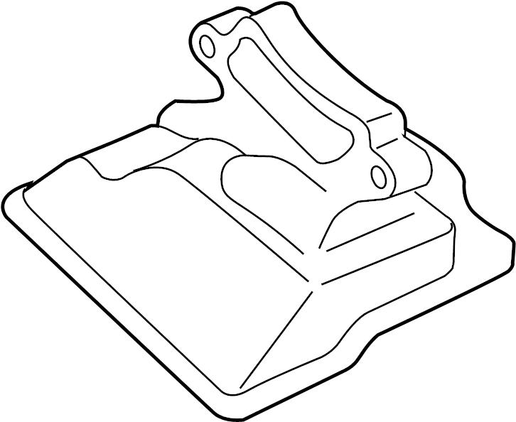Mazda CX-7 Filter. Strainer, oil. Transmission. Filter to