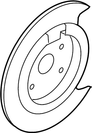 Mazda CX-9 Dust. Shield. (Right). CX-9; Right. W/AWD. W/O