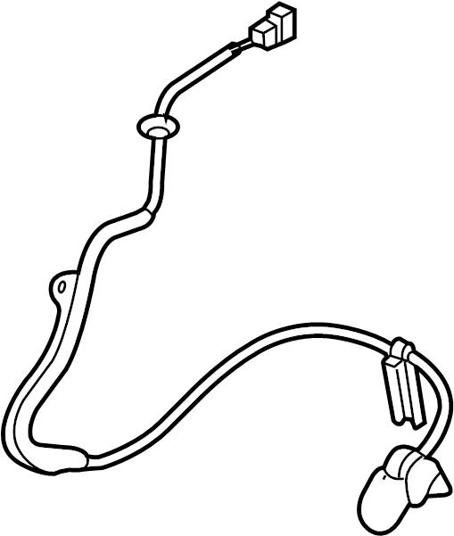 2006 Mazda MX-5 Miata Abs wheel speed sensor (front