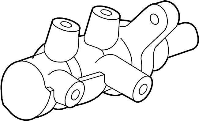 Mazda MX-5 Miata Brake Master Cylinder. Control, Stability