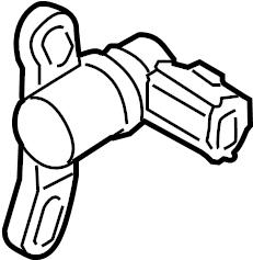 Mazda MX-5 Miata Crankshaft. Sensor. Position. Cra. Posi