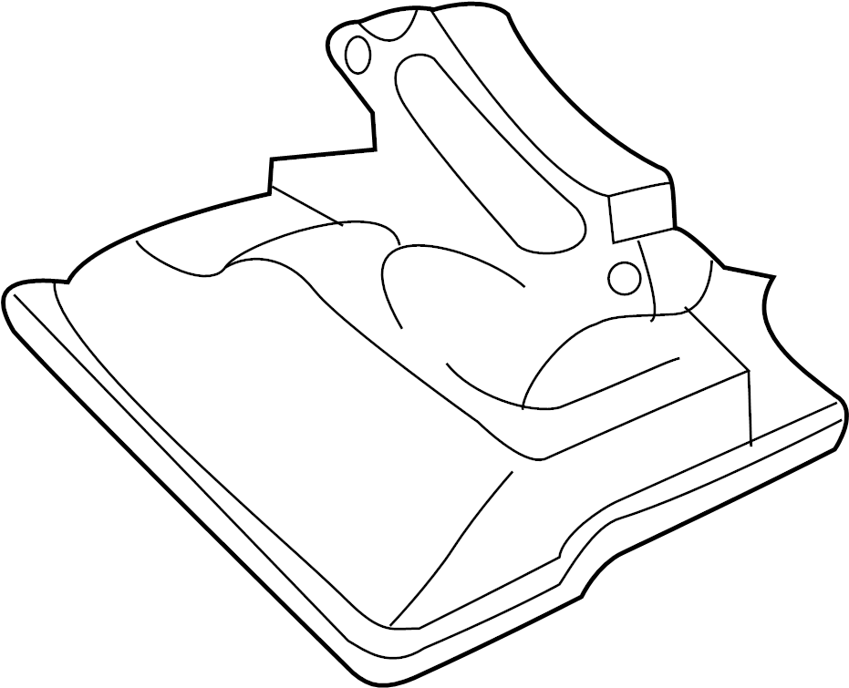 2008 Mazda Filter. Strainer, oil. Transmission. Filter to