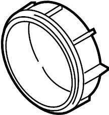 Mazda 3 Headlight Bulb Cap (Lower). HID, HID bulb. W/HID