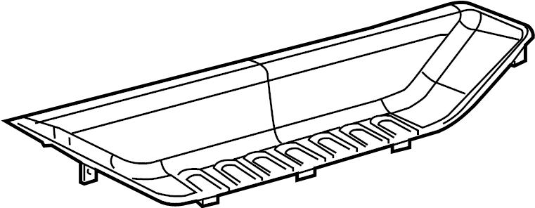 2009 Mazda CX-7 Grand Touring Sport Utility Bumper Step