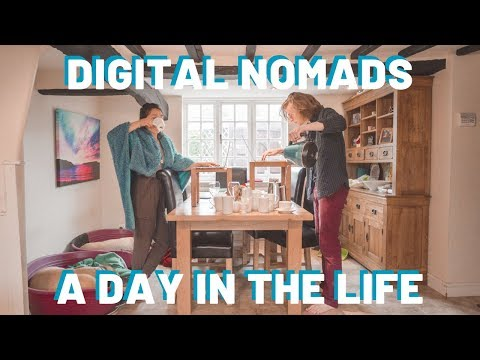 A Day In The Lifestyles Of A Digital Nomad Couple | Our England Routine