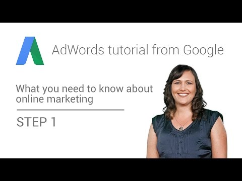 AdWords tutorial from Google – Step 1: What you should know about web on-line affiliate marketing