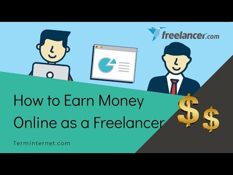 How to Invent Cash On-line as a Freelancer | Invent Cash On-line on Freelancer (English)