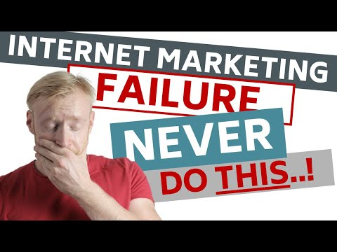 Web Marketing for Inexperienced persons — Easy programs to FAIL by Doing this COMMON Thing!