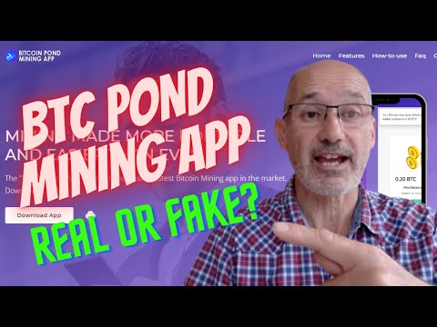 Bitcoin Pond Mining App Review – Real or Spurious?