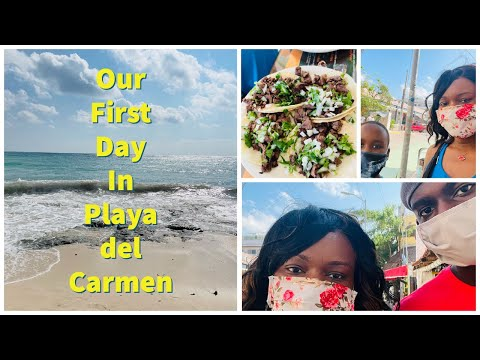 FIRST DAY IN PLAYA DEL CARMEN. DIGITAL NOMAD LIFE BEGINS. COME CHECK IT OUT WITH US