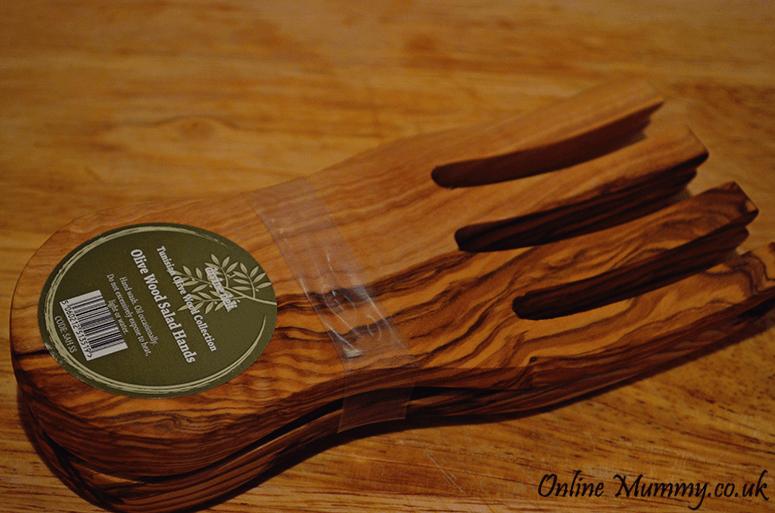 Divine Deli Olive Wood Salad Hands
