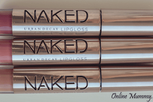 Urban Decay Naked Skin Ultra Nourishing Lipglosses