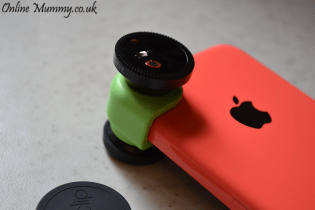 OlloClip iPhone 5C 3-In-1 Camera Lens
