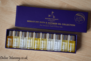 Aromatherapy Associates Miniature Bath and Shower Oil Collection