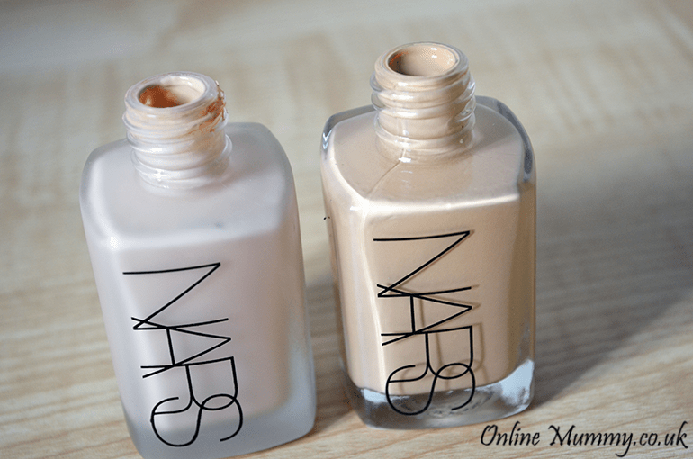 Nars Sheer Glow and Sheer Matt