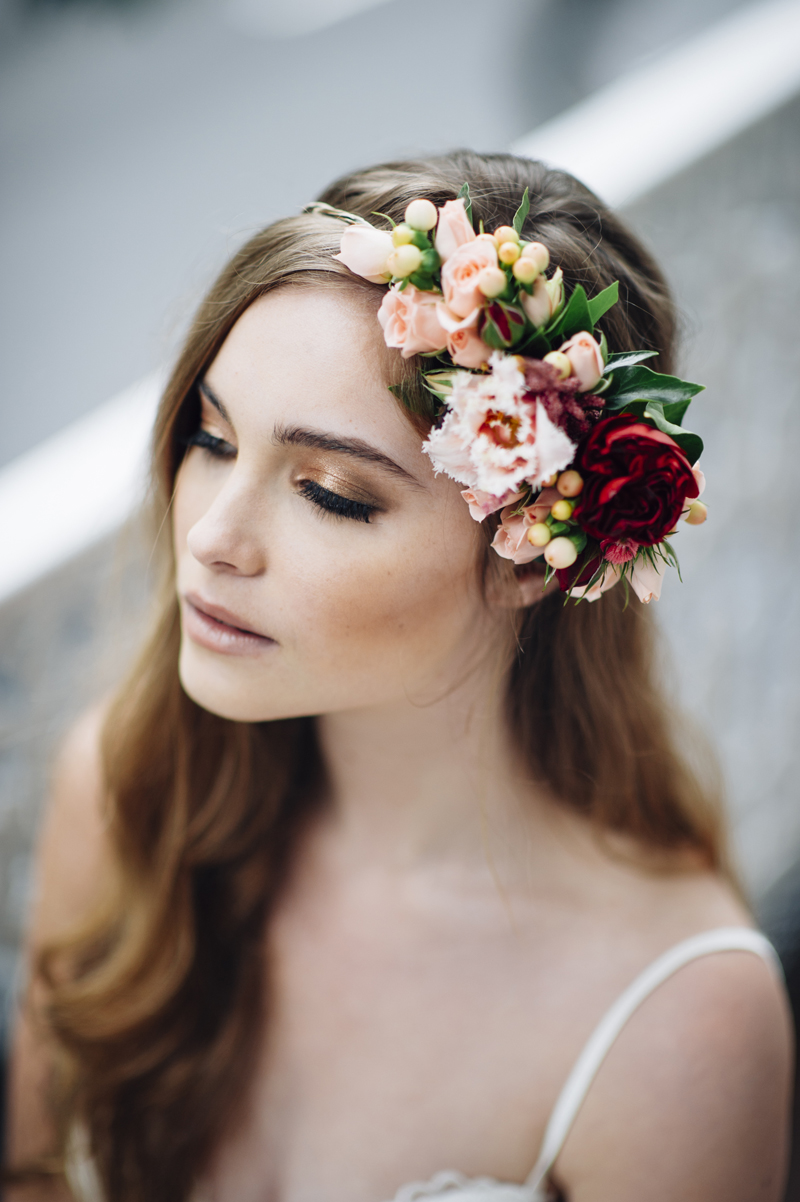 Wedding Wednesday: Fabulous Floral Head Pieces