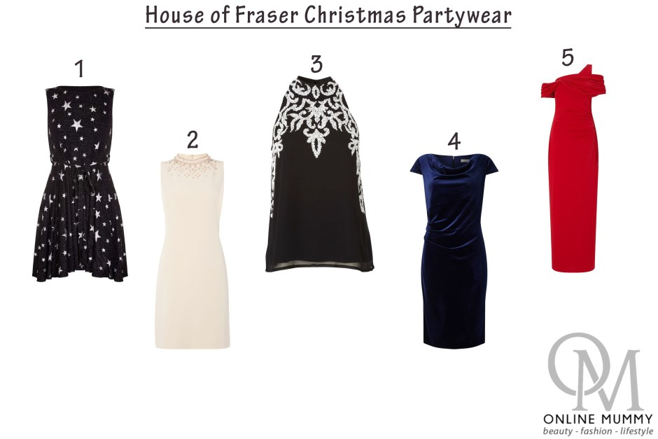House of Fraser Christmas Partywear