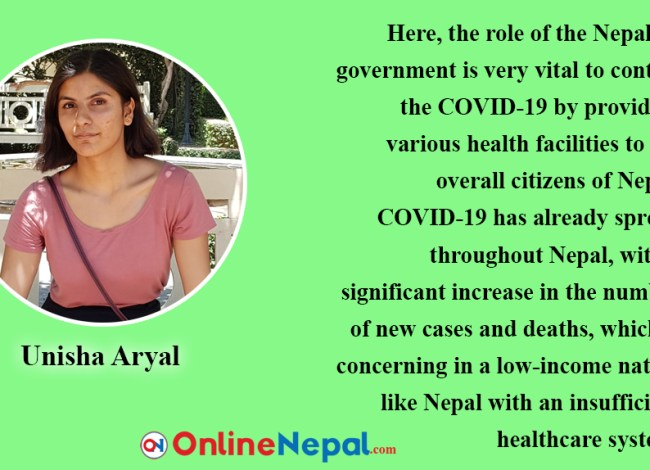 Role of Nepalese Government to Response COVID-19.