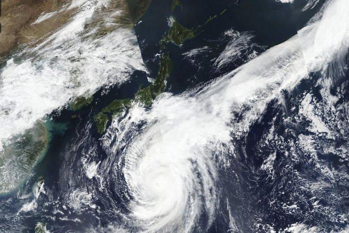 Typhoon Hagibis (Typhoon No. 19)