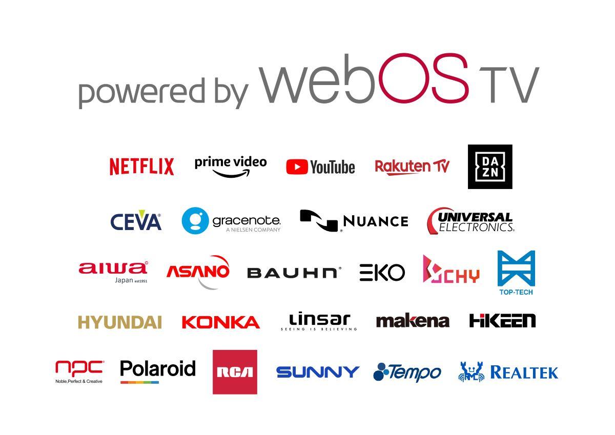 webOS TV Partners