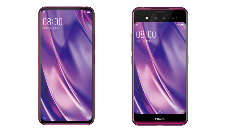Vivo-NEX-Dual-Screen-triple camera