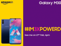 Samsung Galaxy M30 Is Going To Launch on February 27 in India