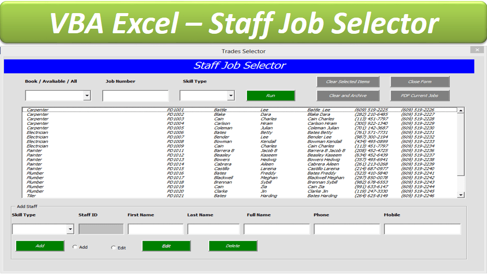 Userform Excel Examples Vba Select Multi