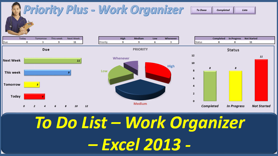 to do list templates for work