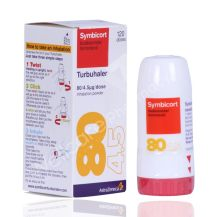 Symbicort Turbuhaler 80/4.5Mcg 120 Doses | Wellcare Online Pharmacy - Qatar | Buy Medicines, Beauty, Hair & Skin Care products and more | WellcareOnline.com