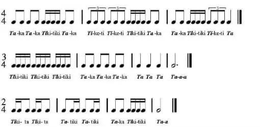 Learn Rhythm with Rhythm Syllables