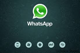 WhatsApp Messenger on computer