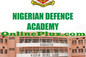 Nigerian Defence Academy Short Service Course