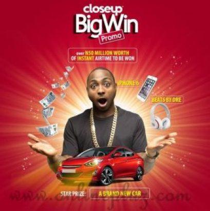 Closeup Big Win Promo 2015