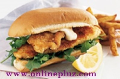 How to Prepare Fish Burger