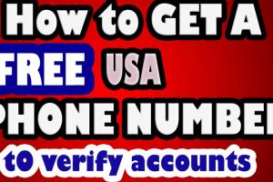 Free United State Virtual Phone Number