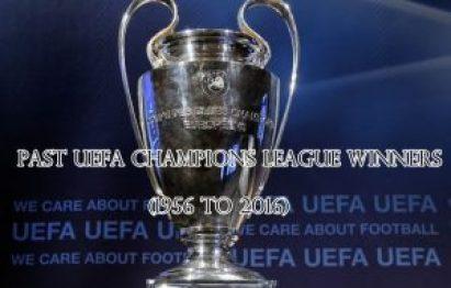 Past UEFA Champions League Winners