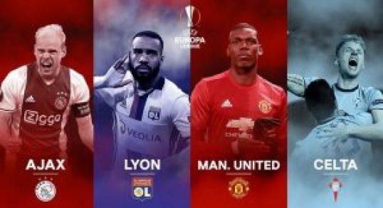 UEFA Europa League 2017 Semi-final Draw