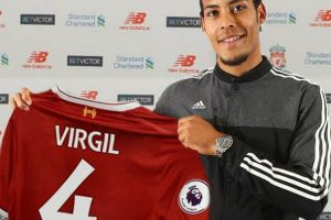RECORD DEAL FOR VAN DIJK