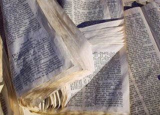 how to Save Water Damaged Book