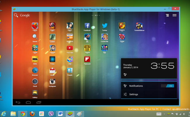 How To Use Android Apps On Pc With Bluestacks
