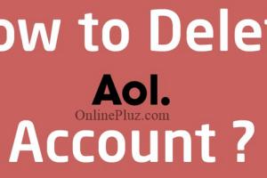 Delete AOL Mail Account