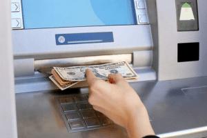 Deposit Cash in an ATM