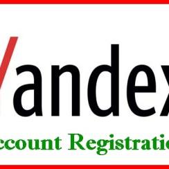 Yandex mail Registration