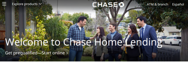 Apply For Chase Mortgage Loans Online