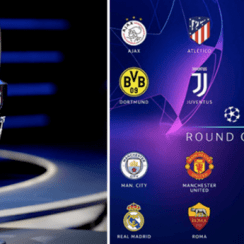 Champions League Round of 16 Draw