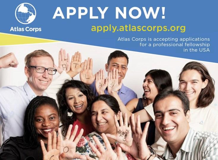 Apply For Atlas Corps Fellowship 2021