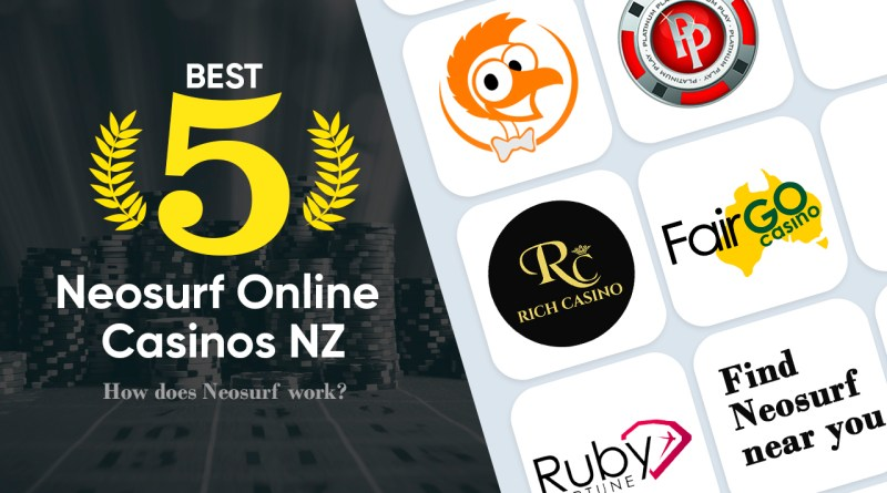 5 Best Neosurf Online Casinos NZ