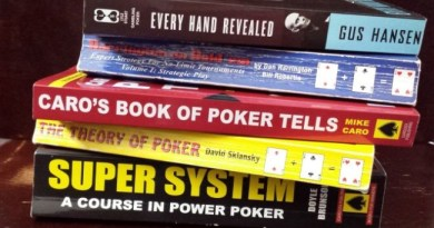 8 Must Read Poker Books to become better Poker Player