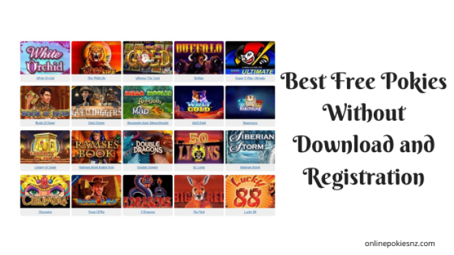 Best Free Pokies without Download and Registration