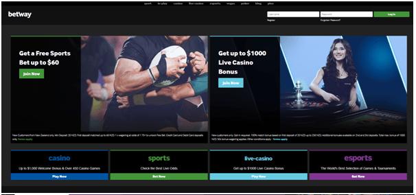 Betway Casino NZD